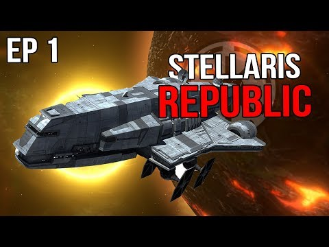 Stellaris - The Grand Army of the Republic |EP 1|