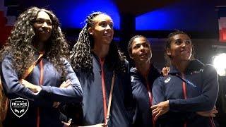 Berlin 2018 : Moment de partage avec les relayeuses au Club France