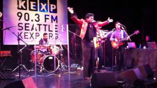"Charles Bradley ""Golden Rule"" Live in Seattle, WA KEXP Music Lounge at Bumbershoot - 09/5/11"