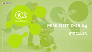 Kinderkraft Mini Dot sport Babakocsi #türkiz