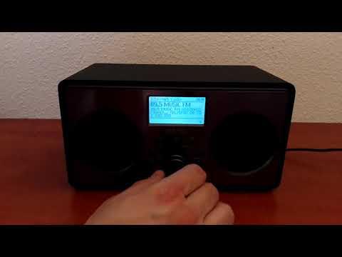 Peaq PDR220-B internet rádió