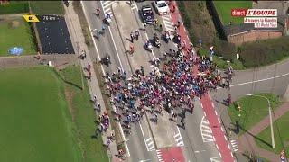 La Course Interrompue - Cyclisme - A Travers La Flandre
