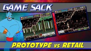 Prototype vs Retail - Game Sack