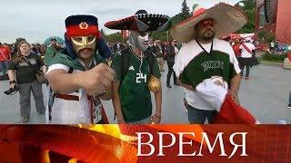 Болельщики всего мира наслаждаются футболом и благодарят Россию.