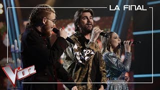 Andrés Martín Y María Espinosa Cantan Con Juanes 'La Plata' | La Final | La Voz Antena 3
