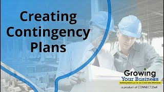 Creating Contingency Plans