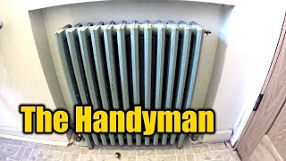 1940's Bathroom Remodel | How To Remove A Radiator | THE HANDYMAN |