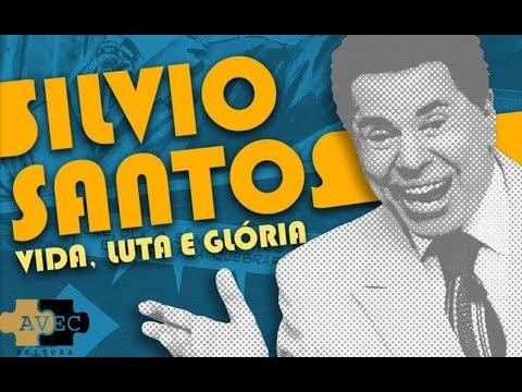 Silvio Santos vem aí pela Editora AVEC: Vida, luta e Glória  | Blog Leitura Mania