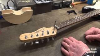 Le réglage du Truss Rod sur la Stratocaster