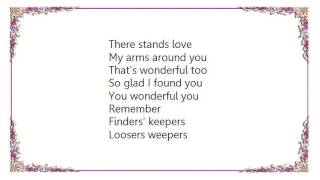 Judy Garland - You Wonderful You Lyrics