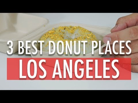 MUKBANG/FOOD REVIEW: THE BEST DONUTS IN LA!