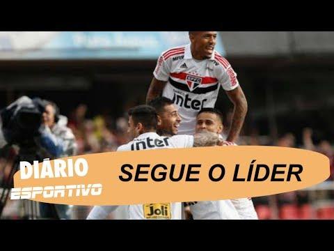 São Paulo vence o Vasco e assume a liderança do Campeonato Brasileiro