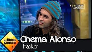 El hacker Chema Alonso piratea el móvil de Pablo Motos en 'El Hormiguero 3.0'