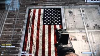 Call of Duty Hangs the American Flag Backwards MISTAKE? READ DESCRIPTION