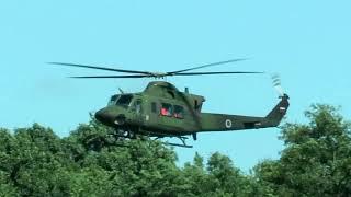 Pristanek helikopterja v Šalincih