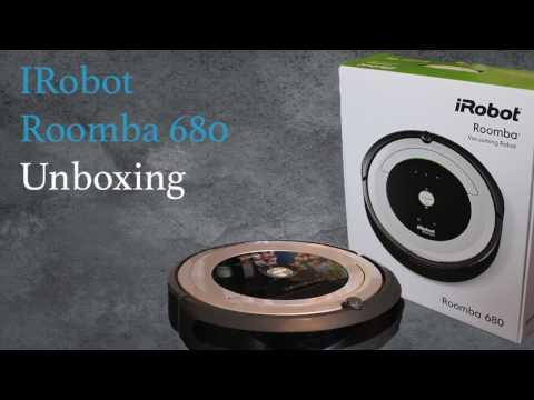 iRobot Roomba 680 Unboxing