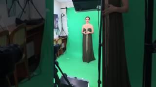 Беременная Анна Седокова для Muz.tv (14.02.17)