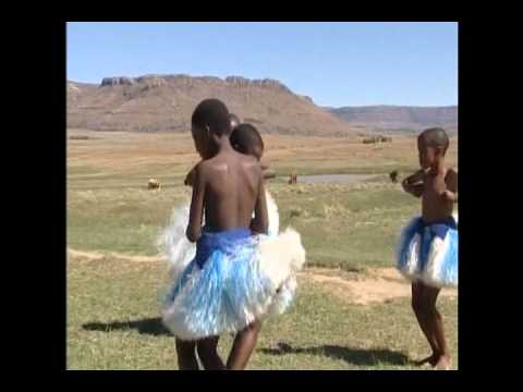 Song and Dance performed by Basotho Children