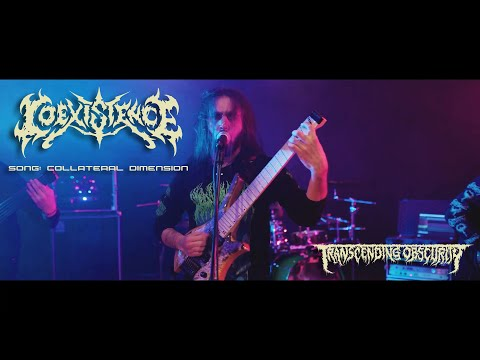 COEXISTENCE - Collateral Dimension OFFICIAL VIDEO (Technical Death Metal) Transcending Obscurity