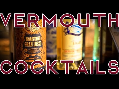 Video Vermouth Cocktails x 6
