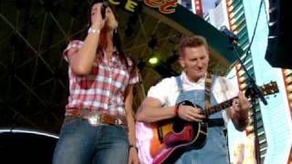 "Joey & Rory, ""You Ain't Woman Enough"" Live in Las Vegas 4-17-10"