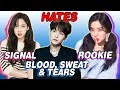 K POP IDOLS WHO HATE THEIR SONGS BTS TWICE RED VELVET B A P MORE