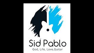 Sid Pablo - Fusion Jazz minor swing on Dm7 Guitar Improv 2015 B