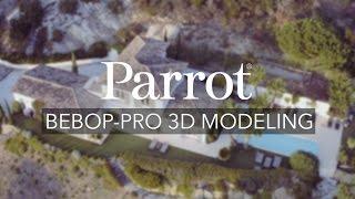 Квадрокоптер Parrot Bebop Pro 3D Modeling від компанії CyberTech - відео