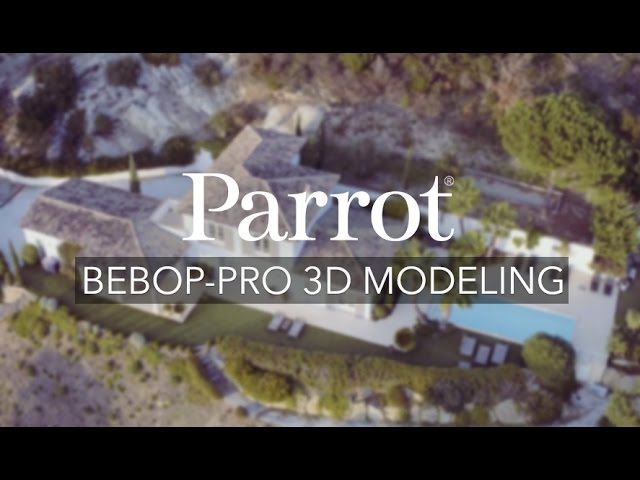Parrot's new Bebop-Pro drone pack lets you scan and develop 3D