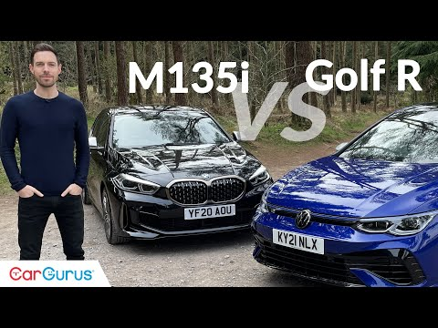 2021 VW Golf R vs BMW M135i: Who builds the greatest hot hatch? | CarGurus UK