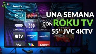 JVC 4K TV con Roku TV: configuración, EXPERIENCIA DE USO y precio en México