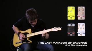 Charlie Bolland - The Last Matador of Bayonne (Joe Bonamassa cover) Petersen Engineering Pedals