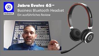 Jabra Evolve 65 Business Bluetooth Kopfhörer-Für Home Office-Ausführliches Review auf deutsch