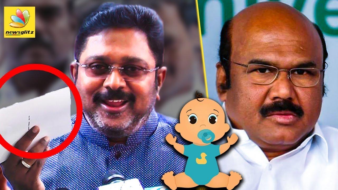 தம்பி பாப்பா கதை விரைவில் வெளிய வரும்  : TTV Dinakaran Speech | Jayakumar & Cv Shanmugam