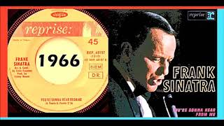 Frank Sinatra - You're Gonna Hear From Me 'Vinyl'