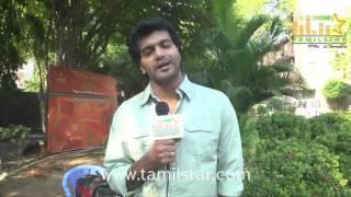 Vinay at Aayirathil Iruvar Team Interview