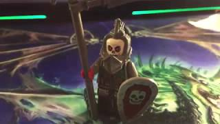Лего Кастомная Минифигурка - Генерал Скелетов! (обзор)