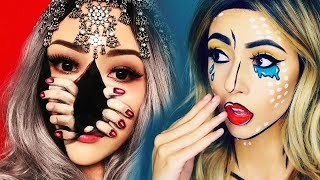 TOP 25 INSANE Halloween Makeup TUTORIALS & IDEAS 2018...