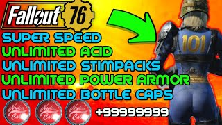Fallout 76: Top 5 glitches/exploits! Unlimited bottle caps! Unlimited stimpacks and more!