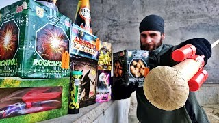 400$ Fireworks ULTIMATE Test (Strongest Firecrackers in Europe)