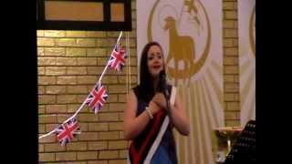 I Know You By Heart by Eva Cassidy, performed by Caroline Hardman in Royalty at the Jubilee