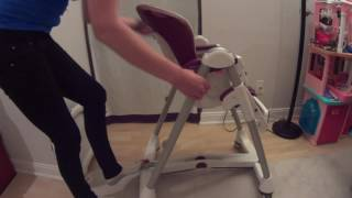 Peg Perego high chair - Peg Perego Prima Pappa Best High Chair - Bordeaux Review