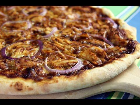 烧烤鸡肉披萨