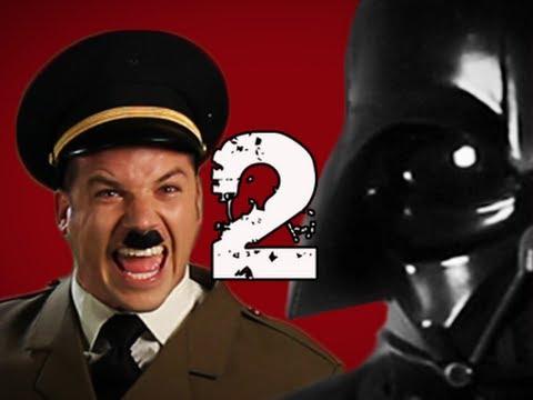 Hitler vs Vader 2. Epic Rap Battles of History