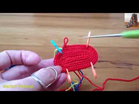 Einfaches 3d Muschelmuster Häkeln Loop Häkeln Ganz Einfach