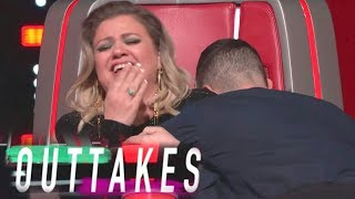 The Voice Season 16 Bloopers: Adam Levine Does His Best Country Twang (Exclusive)