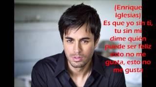 Nicky Jam ft Enrique Iglesias - El Perdón letras