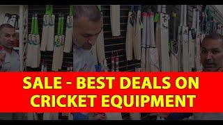SALE - Best Deals On Cricket Equipment | Cricket Store Online