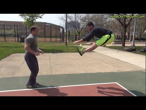【跳躍力アップ!】体全体を使う2種類のジャンプトレーニング!