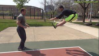 全身のバネを鍛えよう!二つのジャンプトレーニング